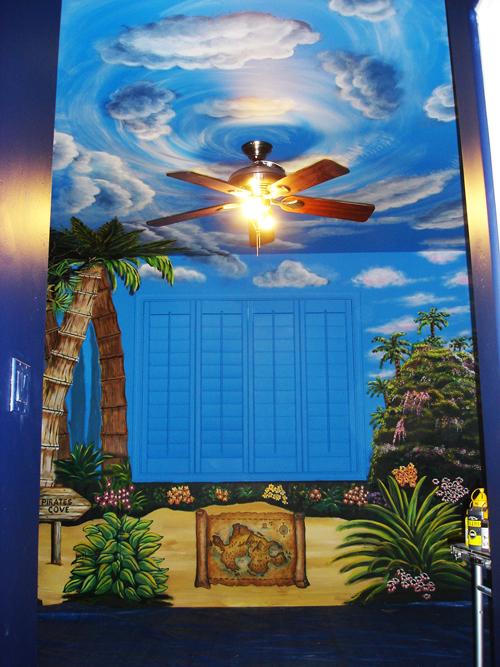 Neverland Murals
