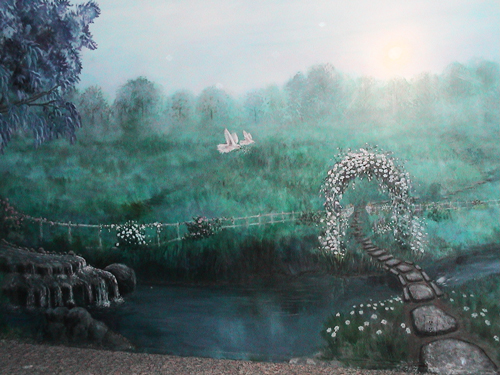 Peaceful Scene Mural