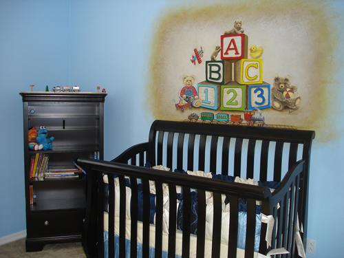 Baby Blocks Mural