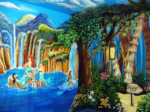 Waterfall-Mermaids-Murals