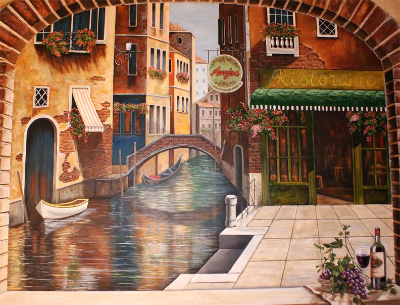 Venice Italy murals