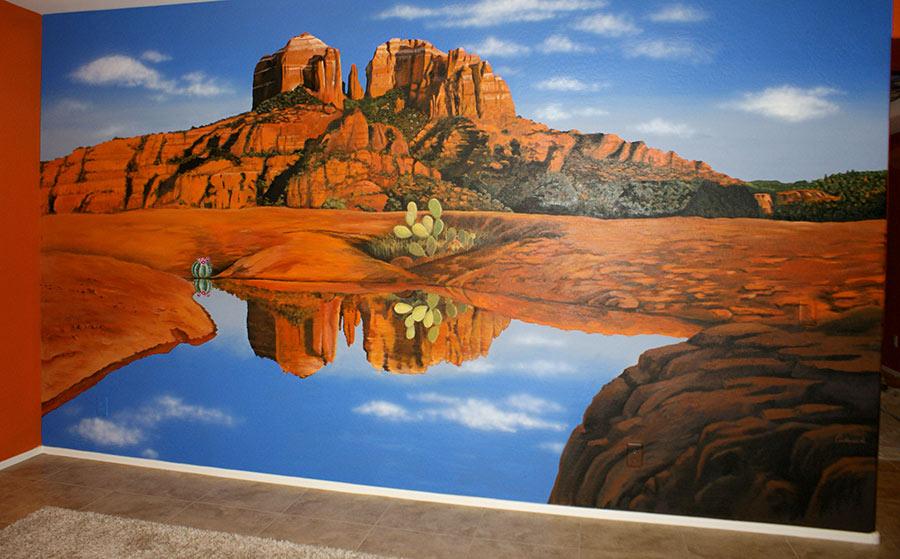 Mural of sedona
