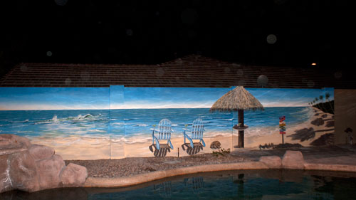 Block-wall-mural-beach-scene